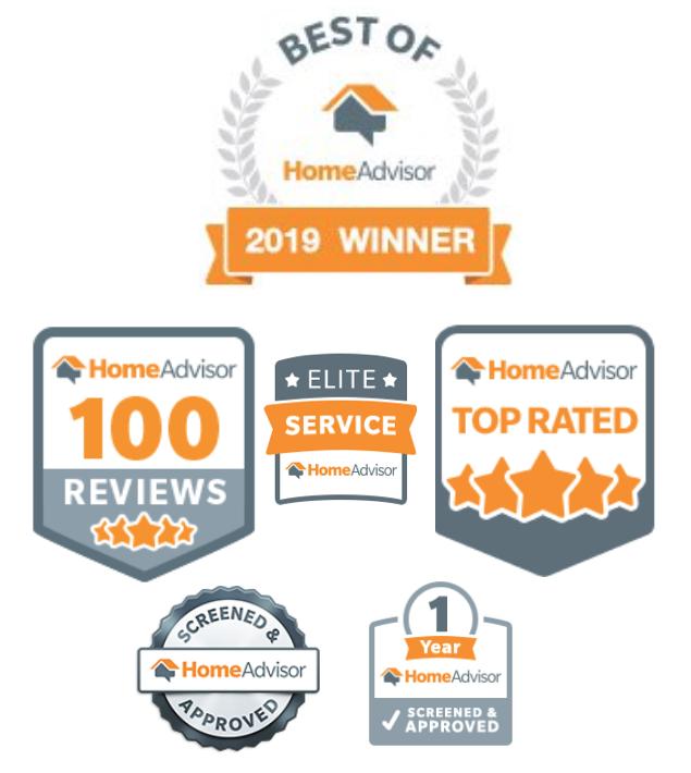 We received HomeAdvisor's 'Best Of 2019 Winner' Award – KONA